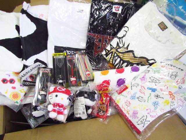 関ジャニ∞のTシャツなどを多数買取
