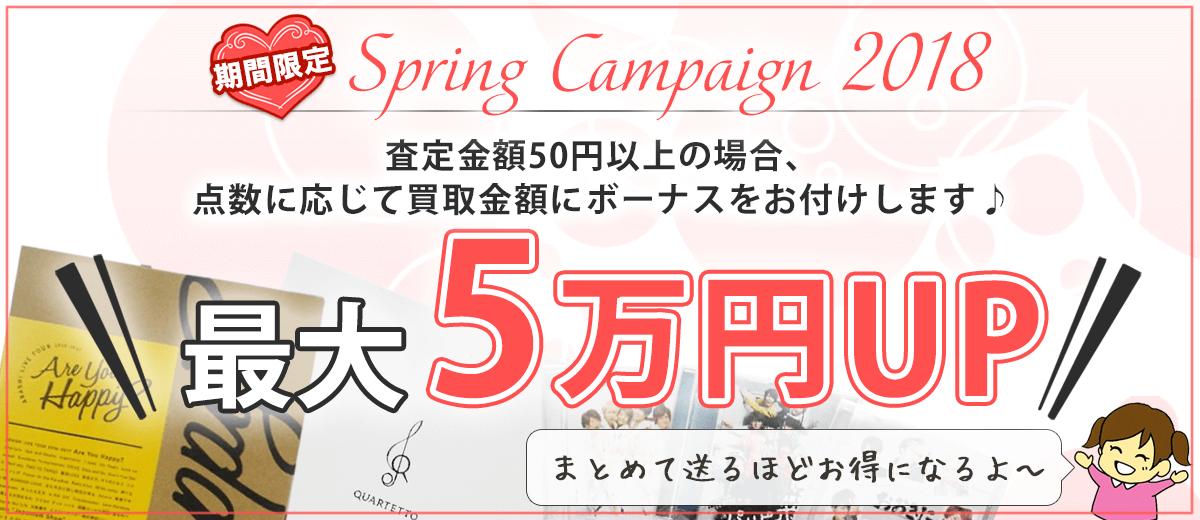 買取金額最大2万円アップキャンペーン
